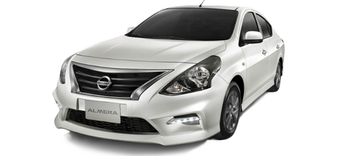 Mietwagen NEW Nissan in Pattaya